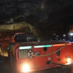 Most underground mines are moving away from traditional diesel driven equipment fleets. Image credit: Leon Louw